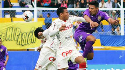 Universitario de Deportes empató 1-1 con Comerciantes Unidos en Cutervo