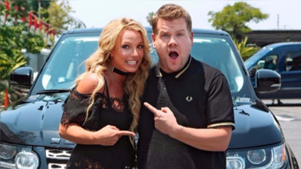 "Britney Spears se sube al ""Carpool Karaoke"" de James Corden"