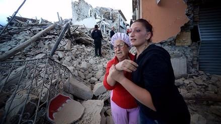Sismo de 6,2 grados sacude Italia y deja al menos 6 muertos