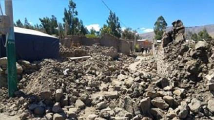 Estiman S/. 30 millones para reconstrucción de Ichupampa tras sismo