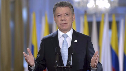 Presidente de Colombia anuncia cese al fuego definitivo con las FARC