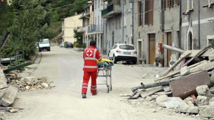 Aún no se han reportado víctimas peruanas por el terremoto en Italia