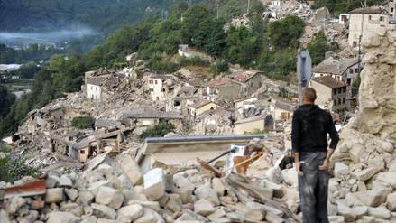 YouTube: graban momento exacto del terremoto en Italia