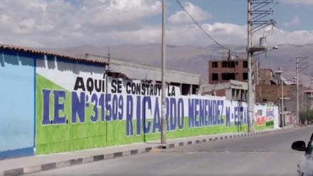 Municipalidad de Junín impone multa a gobierno regional por pintas en paredes