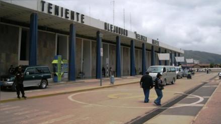 Mexicano fue intervenido con dos kilos de droga en aeropuerto