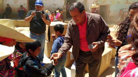 Municipio de Ferreñafe llevó ayuda a pobladores de Incahuasi