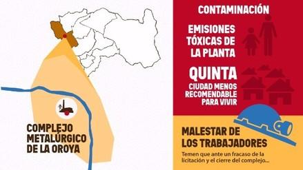 Gráfica: ¿cuál es la polémica detrás de la minera Doe Run en La Oroya?