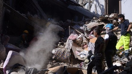Video: terremoto en Italia de 6.2 grados dejó al menos 250 muertos