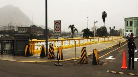 ¿Por qué el municipio de Lima pintó de amarillo el Puente Trujillo?
