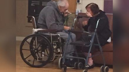 Tras 62 años de matrimonio, una pareja es obligada a estar separada