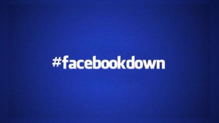 Facebook se cayó por unos minutos y los usuarios reaccionaron en Twitter