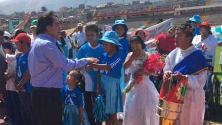 Huancayo: personas con discapacidad participan de olimpiadas