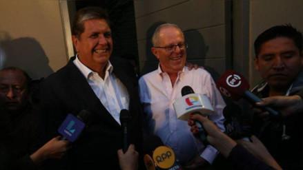 PPK convocó a Alan García para reunirse el lunes 29 de agosto