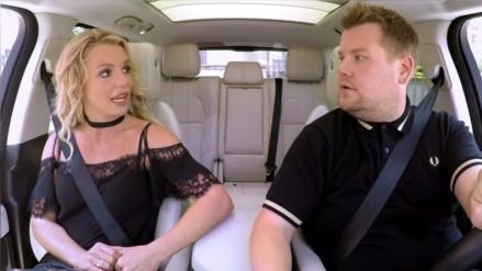 "Britney Spears: así cantó en el ""Carpool karaoke"""