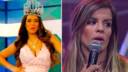 Video: Jazmín Pinedo desairó a Alejandra Baigorria