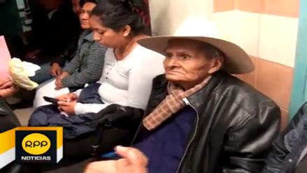 Adulto mayor recibió mala atención en EsSalud de Cajamarca