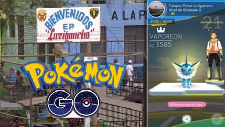 Pokémon Go: Penal de Lurigancho es un gimnasio y es protegido por Vaporeon