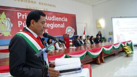 Gobernador de Amazonas rindió cuentas de su gestión en audiencia regional