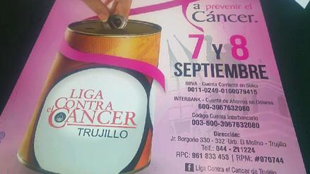 Voluntarios de Liga de Contra el Cáncer iniciarán colecta en Trujillo