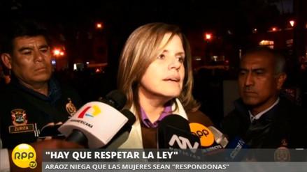 Mercedes Aráoz: Cipriani está equivocado sobre la píldora del día siguiente