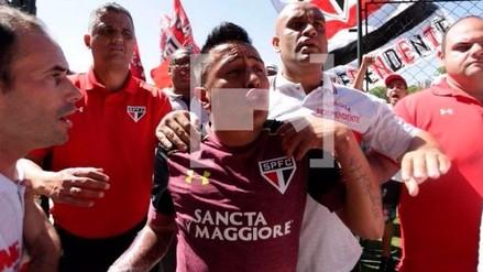 Christian Cueva: hinchas del Sao Paulo agredieron a los jugadores