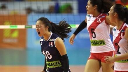Perú ganó 3-1 a Colombia y clasificó al Mundial de vóley Sub 18