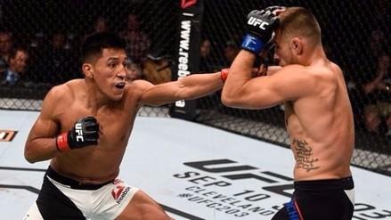 UFC: Enrique Barzola perdió ante Kyle Bochniak por decisión dividida