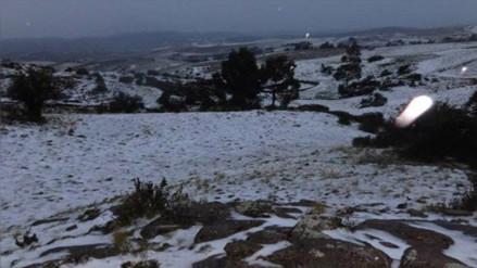 Advierten bajas temperaturas en provincias de Huancavelica