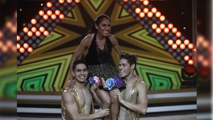 El Gran Show: Gladys Tejeda se lució al ritmo de cumbia y huayno