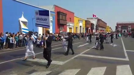 Trujillo: realizan pasacalle de Danzas Folklóricas de América y Europa