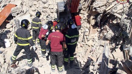 Italia: niña se sacrificó y protegió con su cuerpo a su hermana en terremoto