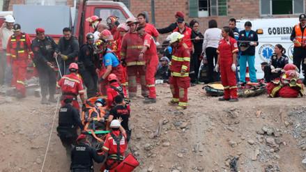 Trabajadores heridos por caída de puente en Callao se encuentran estables
