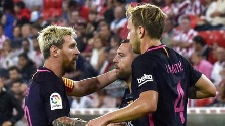 Barcelona ganó 1-0 a Athletic Bilbao con un tanto de Iván Rakitic
