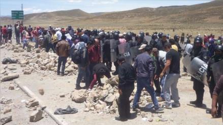 Anuncian paro de 24 horas para retiro de mineras por presunta contaminación