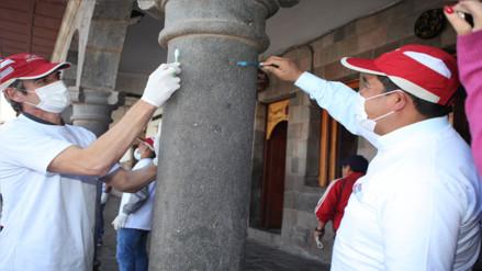 Cienciano y Garcilaso unidos en jornada de conservación de muros