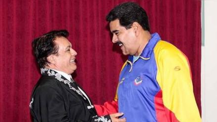 Twitter: Nicolás Maduro recuerda su último encuentro con Juan Gabriel