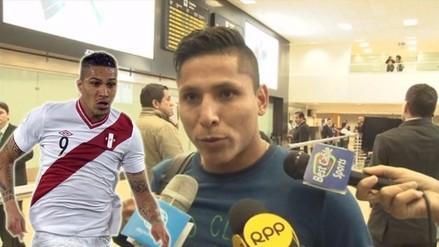 Selección Peruana: Raúl Ruidíaz feliz de hacer dupla con Paolo Guerrero