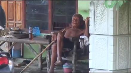 Video: un indonesio asegura que nació en 1870 y que tiene 145 años