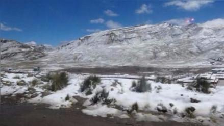 Monitorean descenso de temperaturas en zonas altoandinas de Ayacucho