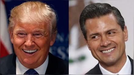Donald Trump anuncia que se reunirá el miércoles con Enrique Peña Nieto