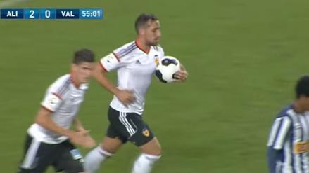 Video: Paco Alcácer, el fichaje de Barcelona que le anotó a Alianza Lima