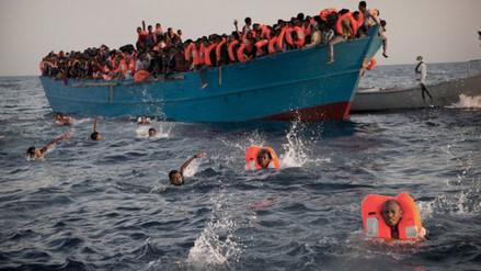 Mira el dramático rescate de 6500 migrantes en el mar Mediterráneo