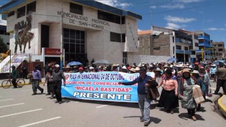 Cuatro zonas de Juliaca desisten sobre revocatoria contra alcalde