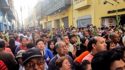 Tráfico: vías alternas por procesión de Santa Rosa de Lima