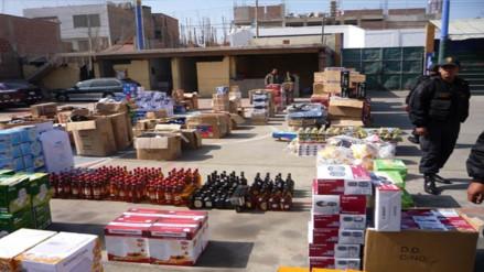 Incautan mercadería de contrabando valorizada en cerca de S/. 30 millones