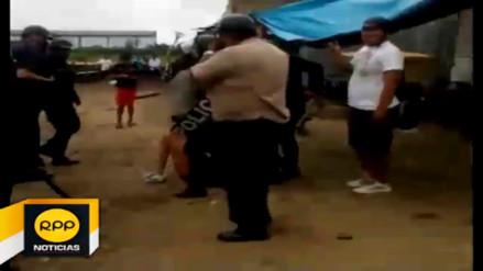 Violento desalojo afecta a pobladores de Iquitos