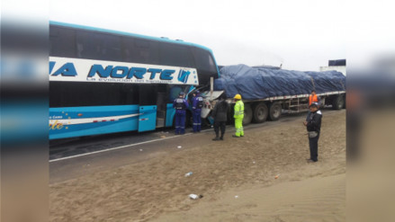 Cuatro muertos dejan dos accidentes de tránsito en Cañete y Huaral
