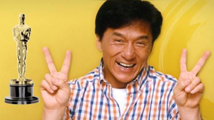 Jackie Chan recibirá Oscar honorífico por su trayectoria