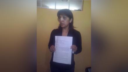 Juliaca: mujer agredida por fiscal suspendido denuncia amenazas