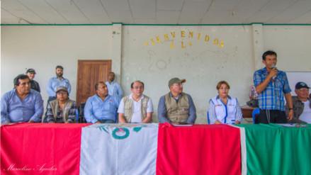 Derrame de petróleo: comisión de alto nivel se reúne con dirigentes